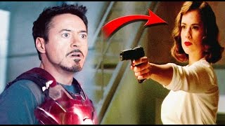 El Secreto de la Verdadera Madre de Ironman | Tony Stark y Peggy Ca...