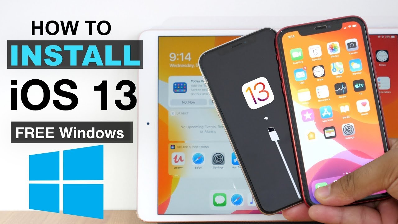 How to Install iOS 13 beta FREE using Windows? (No Xcode, No Paid Dev  Account required)