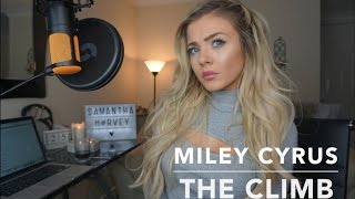 Video Miley Cyrus - The Climb | Cover download MP3, 3GP, MP4, WEBM, AVI, FLV September 2018