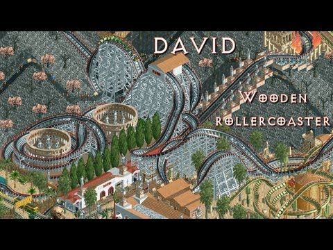 My RollerCoaster Tycoon 2 Contest Entry: David  *1st runnerup!*
