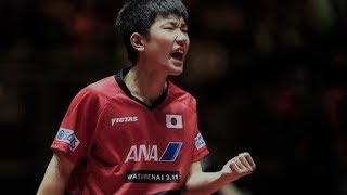 Tomokazu Harimoto - Japanese Wonderkid (Close To The Table Attacker)