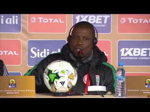 Morocco vs. Nigeria Post Match Conference