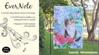 Evernote™ Garden Flag - 14EN2928 Soft Kitty Thumbnail