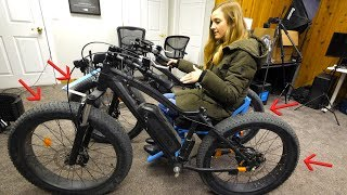 Adding Brakes to All Four Tires! - Off Road WheelChair