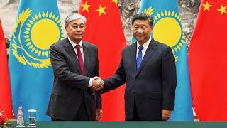 Фото Токаев в Китае ни слова о Синьцзяне  АЗИЯ  12.09.19
