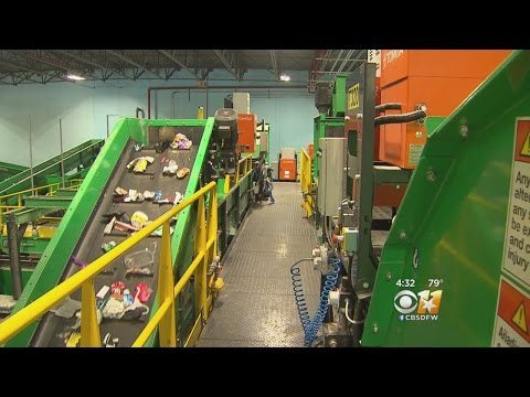 Dallas Opens New State-Of-The-Art Recycling Plant