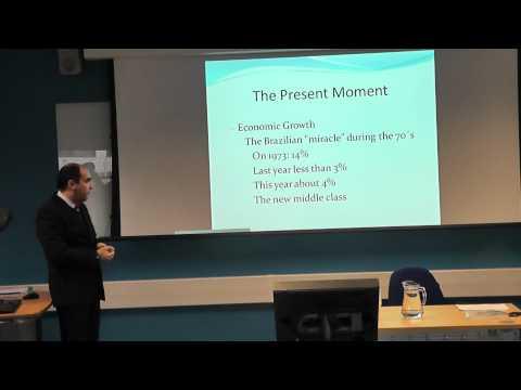UEL RDBS Event - International Crisis and its Impact on Brazil - Professor Manuel Nabais Da Furriela