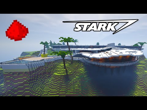 STARK MANSION IN MINECRAFT!! (w/ 500+ Command Blocks) - Command Block House