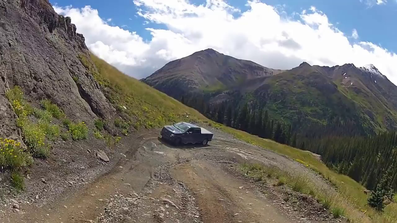 Tundra and F150 Off Roading the Alpine Loop, CO - YouTube