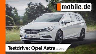 Opel Astra Sportstourer ab 2015 | mobile.de TestDrive