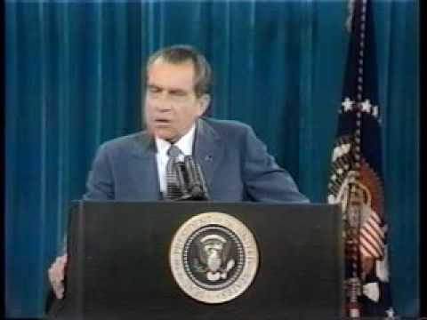 "Richard Nixon - ""I'm not a crook"""