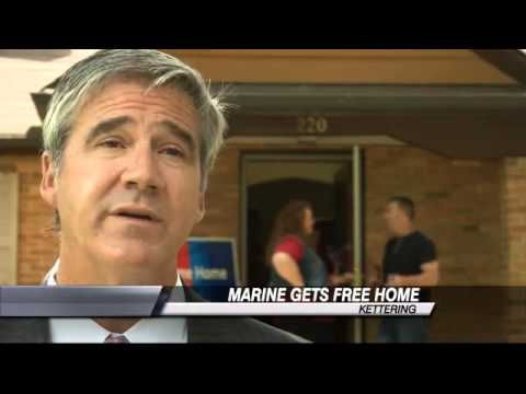 Injured Marine Gets Free Home in Kettering Day Before Wedding