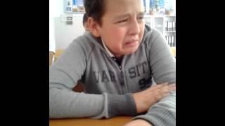 ОН заплакал
