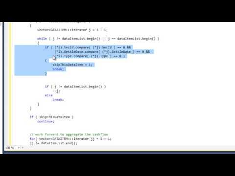 Aggregate data in C++ tutorial - Part 3