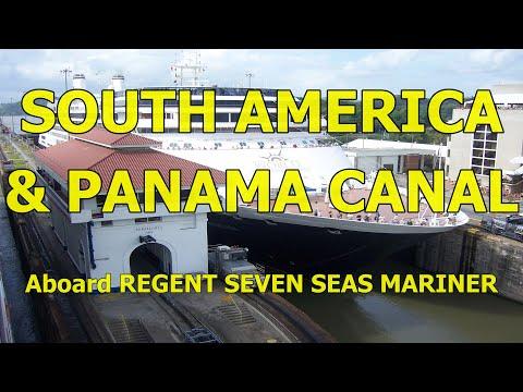 Seven Seas Mariner, South America & Panama Canal Cruise, January 2008