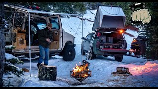 2 Night Snow Camṗing Overland Trip - ft. Primal Outdoors