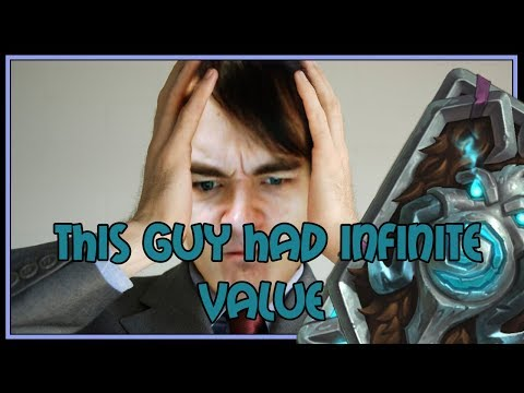 This guy had INFINITE VALUE | Taunt druid | The Witchwood | Hearthstone