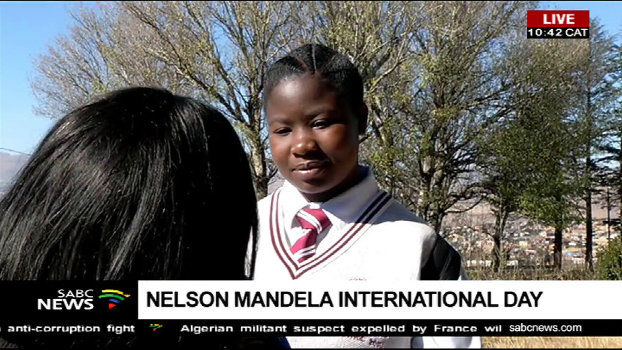 UPDATE: Free State learners observe the Nelson Mandela International Day