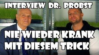Wieso du trotz gesunder Ernährung + Sport Krank bist | Interview Dr. Probst