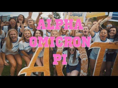 Alpha Omicron Pi Bid Day | University of Minnesota 2017