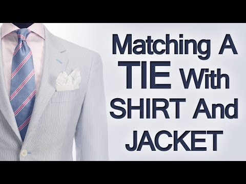 82f1300f38ed 5 Tips Matching Ties Shirts & Jackets | Rules On Matching Clothing ...