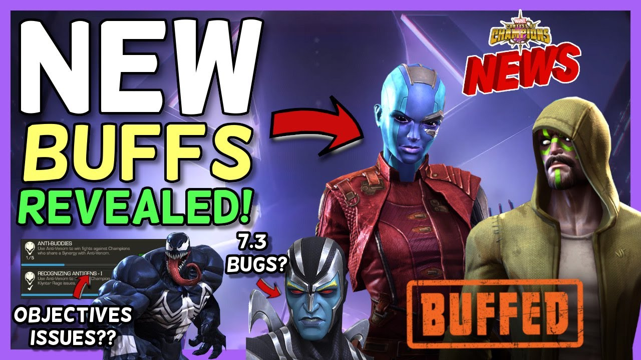 Download New Champ Buffs Revealed For November | AA and AAR issues in Act 7.3? | New Objectives & More [MCN]
