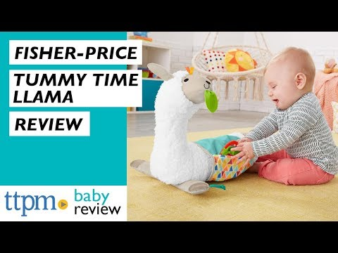 Grow-with-me Tummy Time Llama From Fisher-Price
