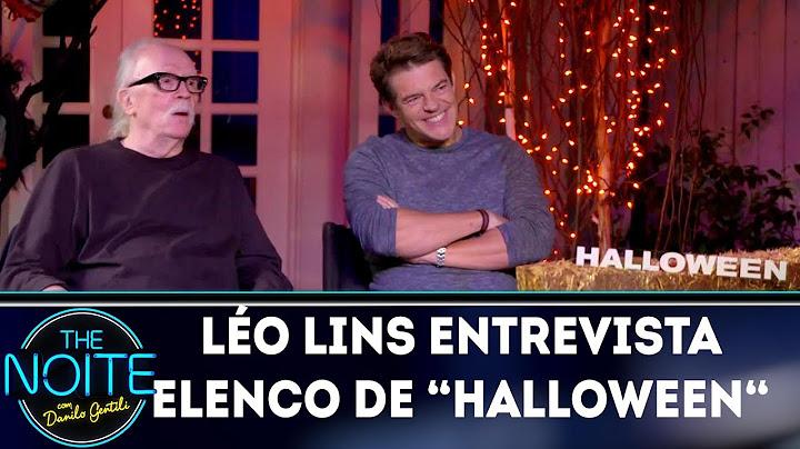 lo lins entrevista elenco do halloween  the noite 221018