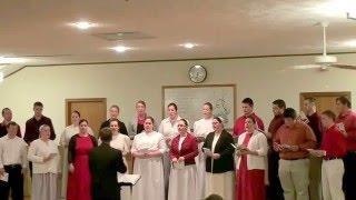 Mennonite Youth Christmas Singing 2015