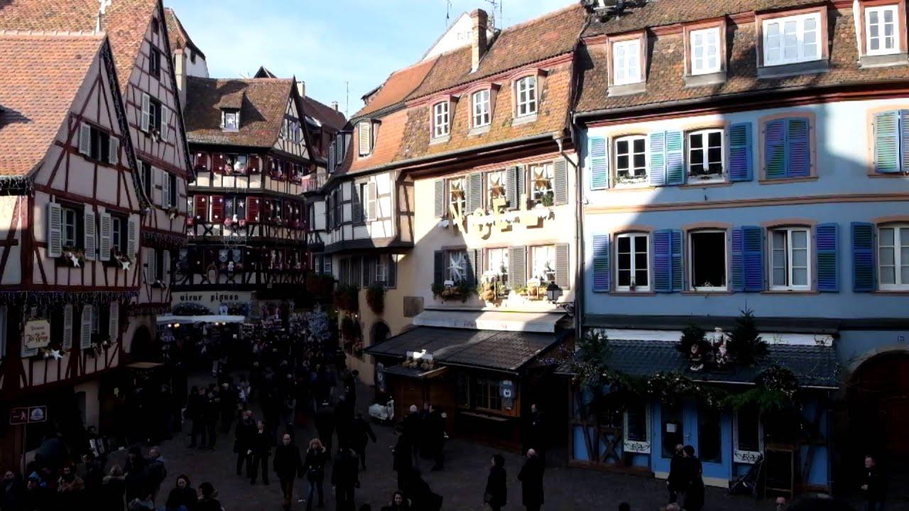 Colmar, el pueblo más bonito en Navidad
