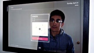 بالفيديو: شاب يخترع مرآة ذكية تفاعلية داخل منزله - بالعربي