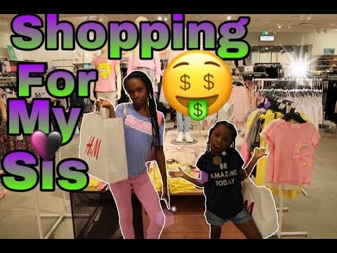 *SHOPPING FOR MY SISTER*(WINS $100)