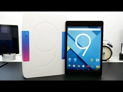 Google Nexus 9 Unboxing & Overview!