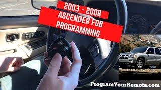 keyless remote entry 2005 Isuzu Ascender key fob car control transmitter