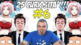 25 Curiosità PAZZESCHE - Volume 6