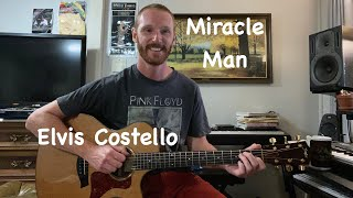 Miracle Man - Elvis Costello Guitar Lesson - Advanced Rhythm and Lead Guitar Tutorial