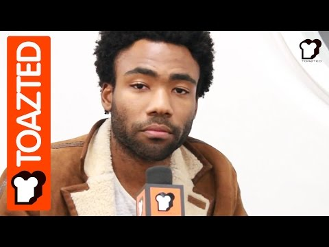 Childish Gambino (Donald Glover) pre roll interview 2013  | Toazted