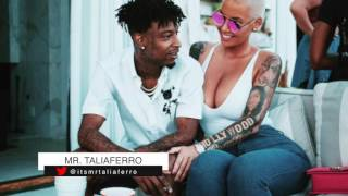 21 Savage Upset That People Are Criticizing Him For Professing His Love To New Girlfriend Amber Rose Resimi