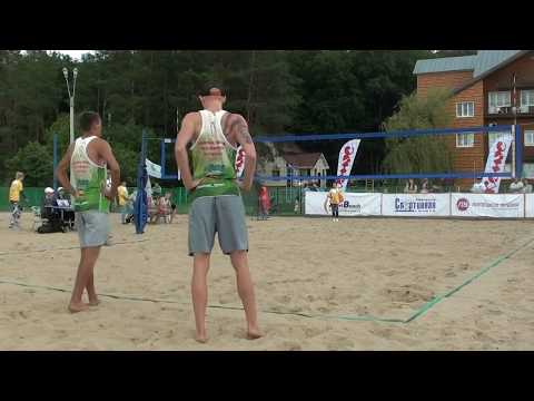 Beach volley Russia Zadonsk 2017 M Game 09 Velichko-Sivolap and Likholetov-Leshukov