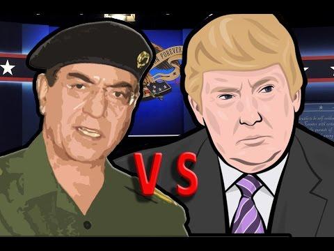 DONALD TRUMP vs COMICAL ALI (aka Baghdad Bob)