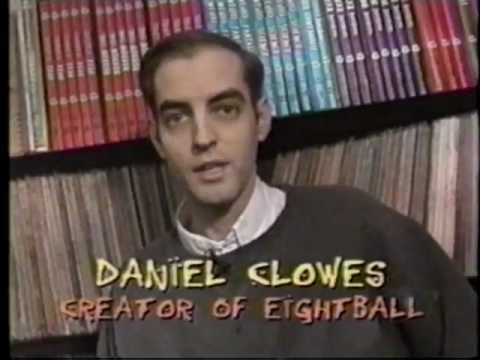 Flashback: Clowes gives a tour of his studio. 2001.