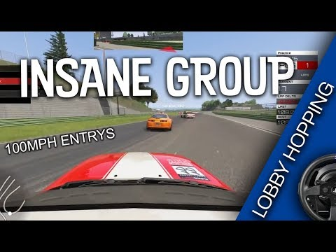 INSANE GROUP - Lobby Hopping EP4 | Assetto Corsa
