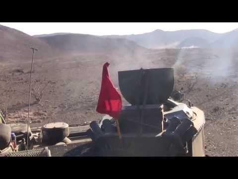 22nd MEU AAV Djibouti live fire exercise