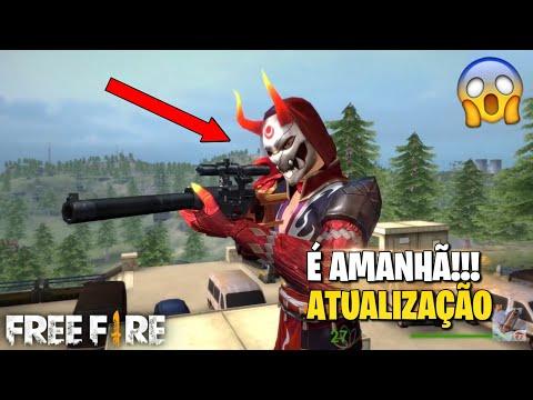 É AMANHÃ!!! NOVA ATUALIZAÇÃO DO FREE FIRE! (NOVIDADES OFICIAIS)