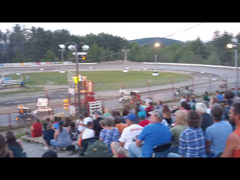 Bear Ridge Speedway State mini Sprints 500 feature Lenn West Memorial 7/13/19