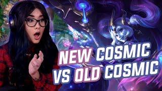 New Cosmic vs Old Cosmic