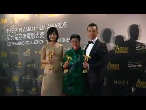 Asian film stars celebrated
