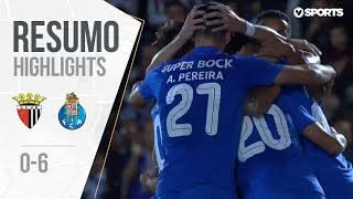 Highlights | Resumo: Vila Real 0-6 FC Porto (Taça de Portugal 18/19 #3)