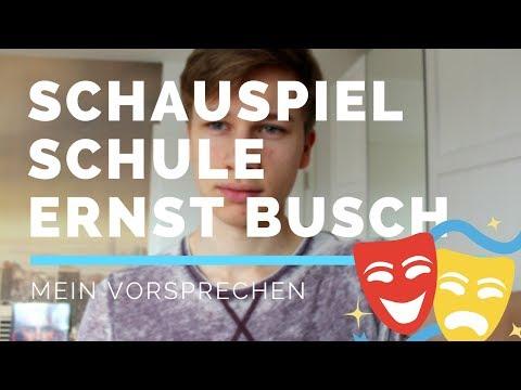 Mein Vorsprechen an der Ernst-Busch SCHAUSPIELSCHULE - Erfahrungen&Tipps