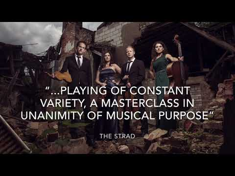 Carducci String Quartet perform Philip Glass at St John's Smith Square, London